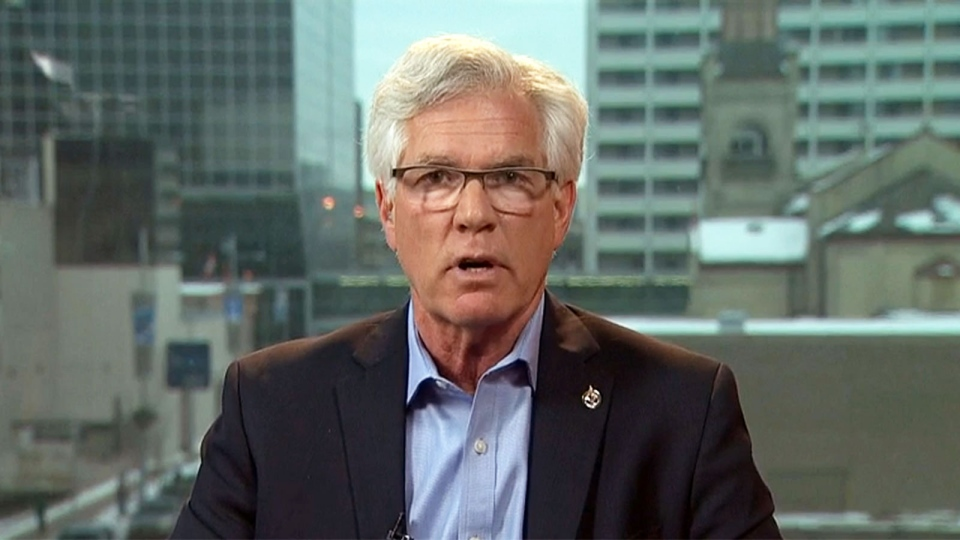Natural Resources Minister Jim Carr appears on CTV's Question Period on Sunday, Jan. 31, 2016.