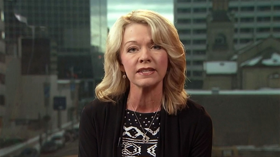 Conservative Natural Resources Critic Candice Bergen speaks on CTV's Question Period on Sunday, Jan. 31, 2016