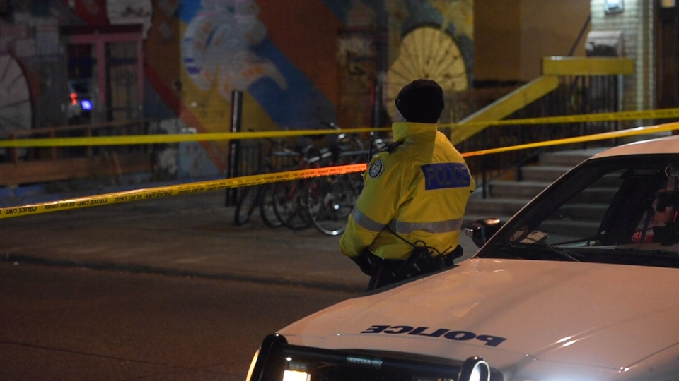 One male is dead and three others were injured following a shooting in Chinatown, Sunday, Jan. 31, 2016.
