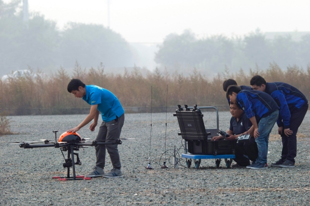 Drone school in China