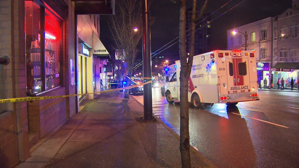 Vancouver police are investigating the city's first homicide of 2016. Jan.31, 2016. (CTV News).