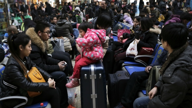 Delays during travel before Lunar New Year