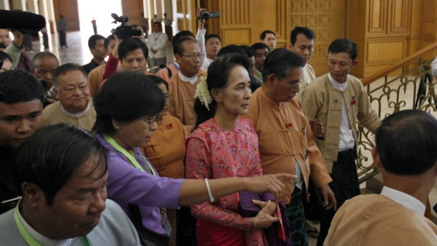 New parliament session begins in Burma
