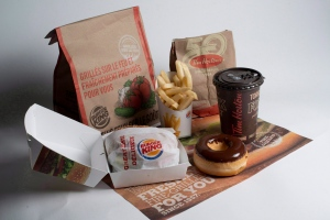 Burger King and Tim Hortons products are pictured in North Vancouver, on Sept. 25, 2014. (Jonathan Hayward/THE CANADIAN PRESS)