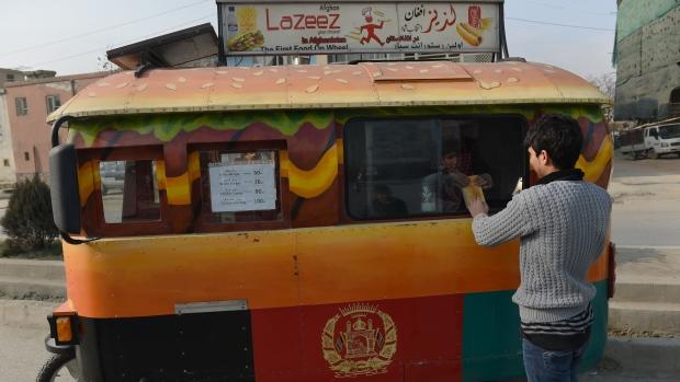 Kabul food truck