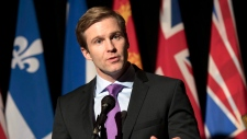 New Brunswick Premier Brian Gallant