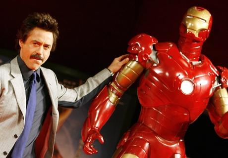 Robert Downey Jr Suits Up For Iron Man Sequel Ctv News
