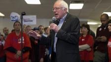 U.S. presidential candidate Sen. Bernie Sanders