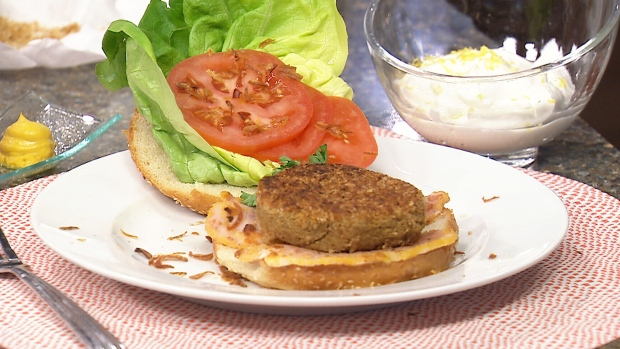 Canada AM: Cooking with pulses: Falafel burger