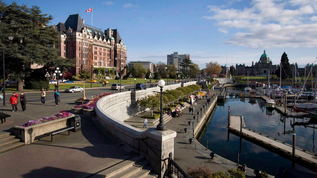 Fairmont Empress Hotel and Inner Harbour