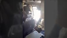 Explosion on Somalia plane