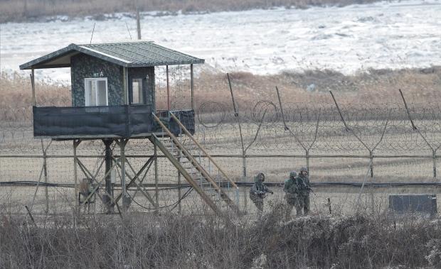 South Korean border