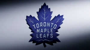 The New Toronto Maple Leafs logo is seen in this image released by the team.