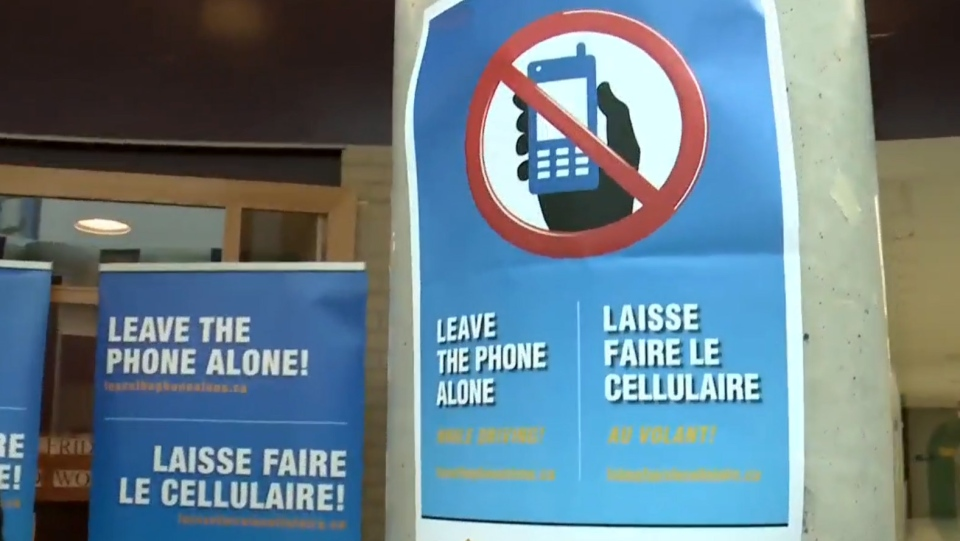 A new distracted driving campaign from the Ottawa Police is targeting students.