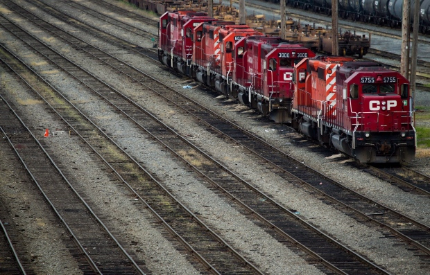 Canadian Pacific Rail locomotives