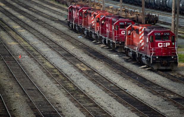 Canadian Pacific Rail locomotives