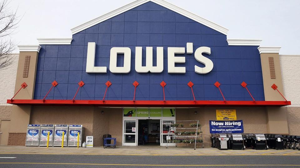 A Lowe's store in Philadelphia, March 25, 2014. (AP / Matt Rourke)