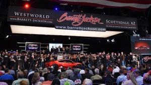 First 2017 Acura NSX at Barrett-Jackson auction (Acura)