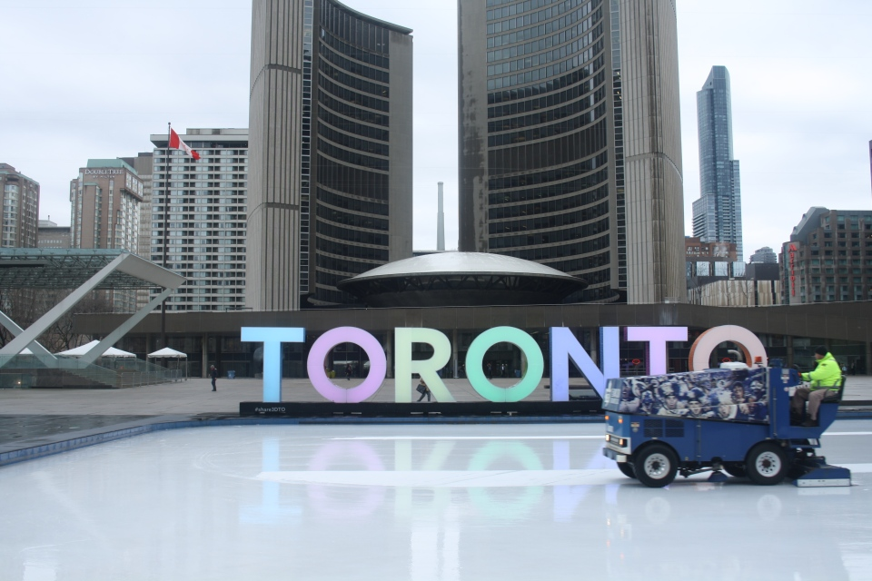 Toronto City Hall is shown in this file photo. (Chris Fox/CP24.com)