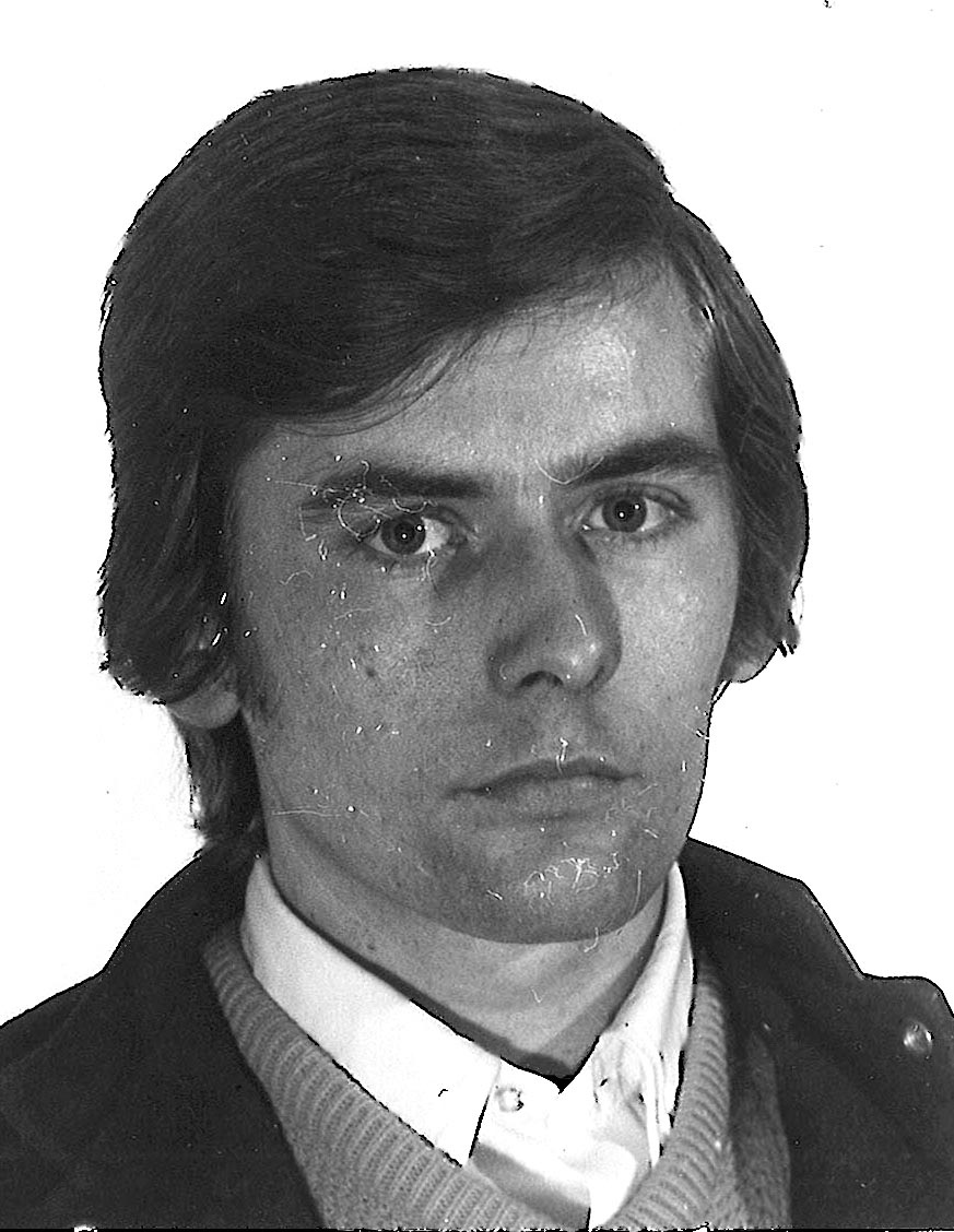 Don Clark is seen in a photo from the early 1970s.