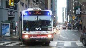 A TTC bus is shown in this file photo. (Chris Fox/CP24.com)