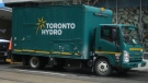 A Toronto Hydro truck is shown in this file photo. (Chris Fox/CP24.com)