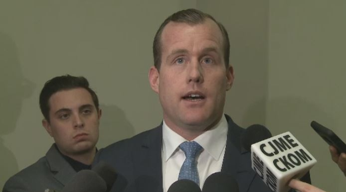 NDP Deputy Leader Trent Wotherspoon