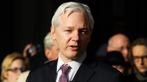 United Kingdom  police threaten to arrest Assange if he leaves Ecuador embassy