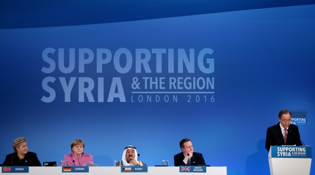 Syria aid conference in London