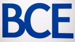 BCE Inc. logo in Montreal, on May 6, 2010. (Graham Hughes / THE CANADIAN PRESS)