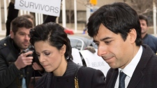 Jian Ghomeshi, Marie Henein arrive at court