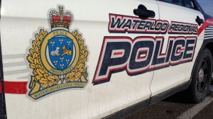 A Waterloo Regional Police cruiser is pictured on Wednesday, Jan. 6, 2016. (Matt Harris / CTV Kitchener)