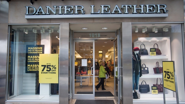 Danier Leather insolvent