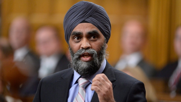 Minister of Defence Harjit Sajjan