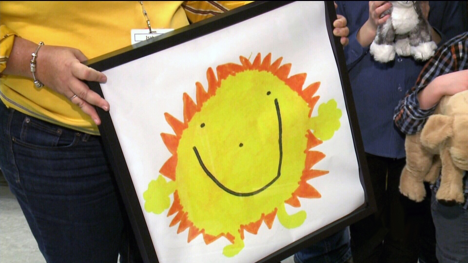 A six-year-old boy's drawing of a sun is set to become a limited-edition toy after the Ottawa child won Ikea's annual toy design contest.