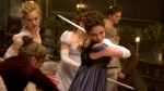 Lily James in a scene from 'Pride and Prejudice and Zombies.' (Jay Maidment / Screen Gems, Sony)
