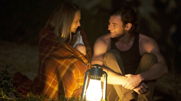 Teresa Palmer, left, and Benjamin Walker in a scene from 'The Choice.' (Dana Hawley / Lionsgate)