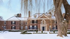 26 Park Circle Lane, the home of Conrad Black, is shown in Toronto in this handout photo. (Concierge Auctions / THE CANADIAN PRESS)