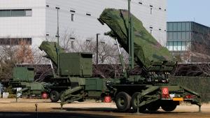 Japan Self-Defense Force's PAC-3 Patriot missile unit deployed in Tokyo, on Jan. 31, 2016. (Shizuo Kambayashi / AP)