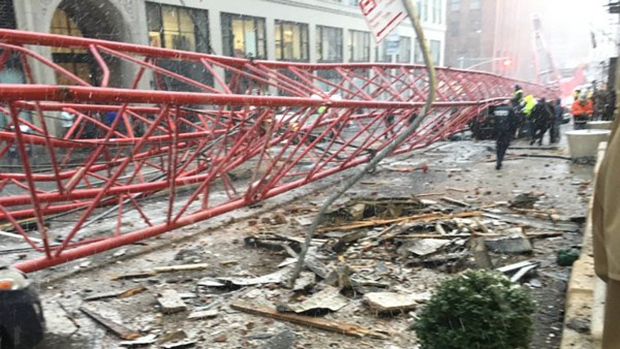 crane collapse NYC