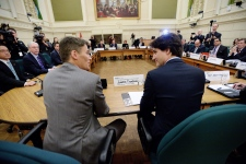 Trudeau meets with city mayors