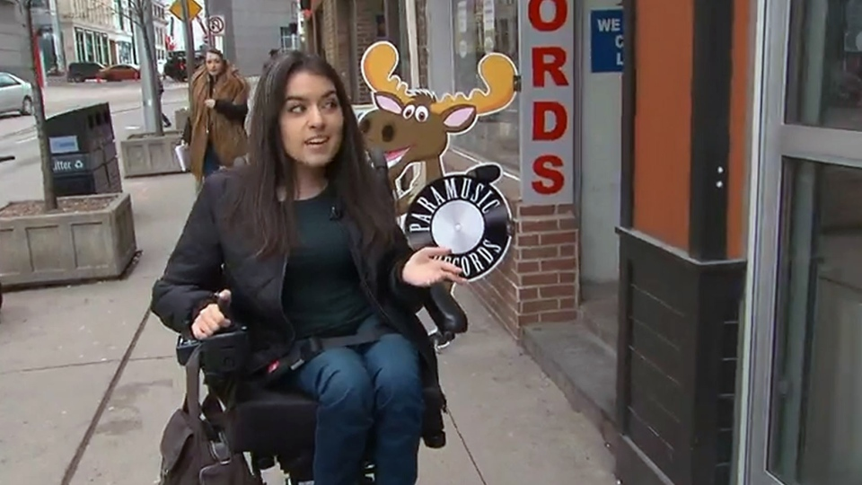 website helps those with physical disabilities find accessible buildings ctv news. Black Bedroom Furniture Sets. Home Design Ideas
