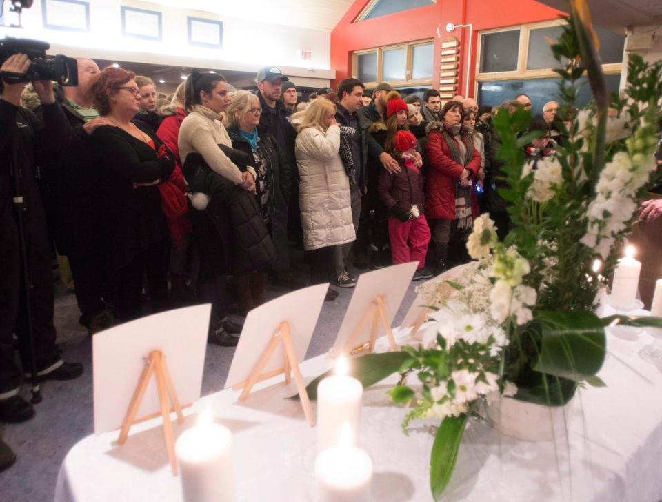 Family and friends of Burkina Faso terror victims