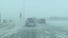 Highway 1 closed due to blizzard