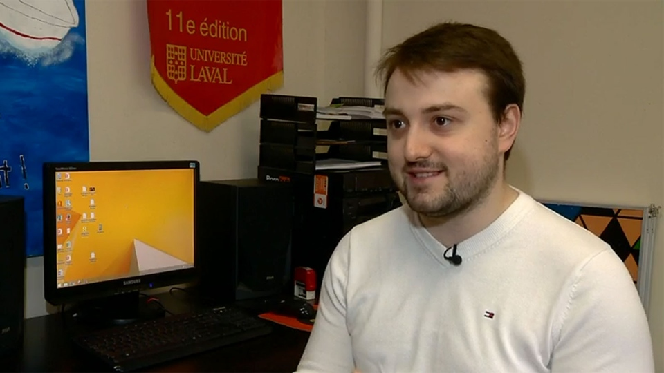 Eduard Paraschivescu, an intern at GSoft, described nodding off at his desk on his second day at work.