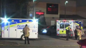 Four different overnight murders in the Toronto area left three victims shot and one victim stabbed