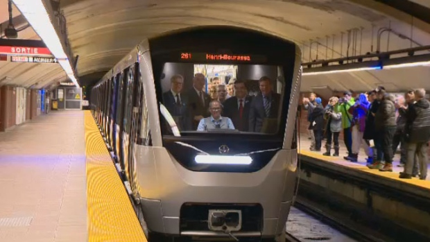 Ottawa helping purchase more Azur trains for Montreal metro