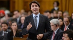 Prime Minister Justin Trudeau responds to a question during question period in the House of Commons on Parliament Hill in Ottawa on Tuesday, Feb. 2, 2016. THE CANADIAN PRESS/Sean Kilpatrick