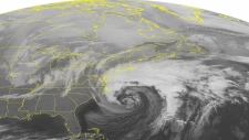 NOAA satellite image