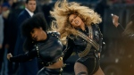 In this Sunday, Feb. 7, 2016 file photo, Beyonce performs during halftime of the NFL Super Bowl 50 football game in Santa Clara, Calif. (AP /Matt Slocum)